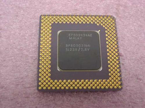 Intel 166Mhz Processor BP80503166 SL23X
