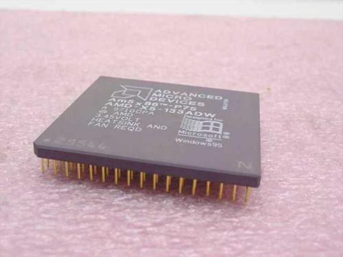 AMD 75Mhz Processor AMD X5-133ADW (Am5x86-P75)