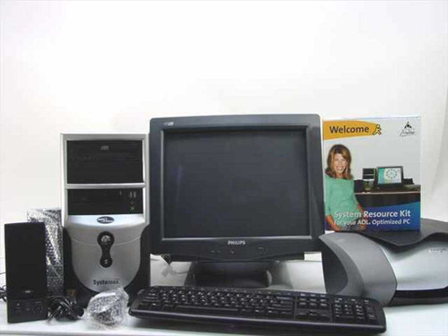 Systemax Systemax AOL Optimized PC KIT w/Printer & Monitor SYX-651M03