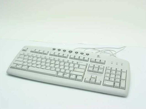 Logitech PS/2 104-Key Internet Keyboard - Y-ST39 867228-0403