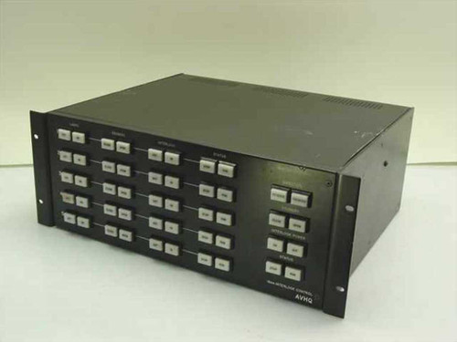 AVHQ Black Rackmount Stage Lighting Controller Master Control