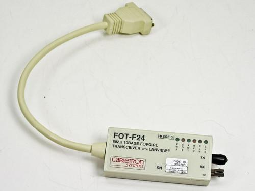 Cabletron 802.3 10base-fl/foirl w/lanview (FOT-F24)