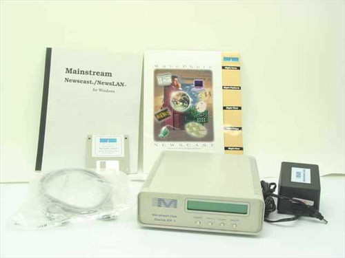 Mainstream Data Receiver with Newscast/Newslan Disk Software (Satellite IDR II)