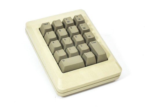 Apple M0120 Numeric Keypad for the Original Macintosh M0110A Keyboard