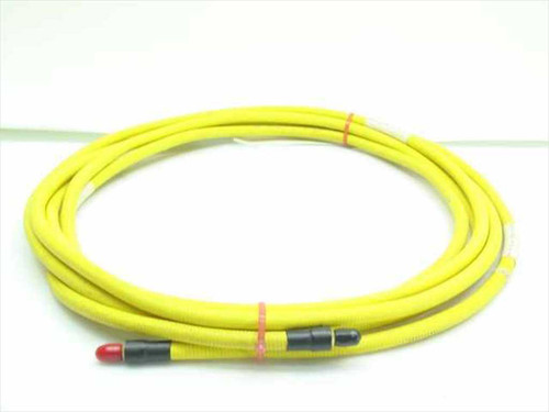 Flexco 16 GHz SMA Microwave Cable 18 FT Long 52214 - Yellow