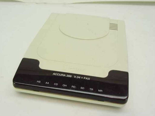 Hayes External Accura 28800 V.34 & Fax Modem (5337AM)