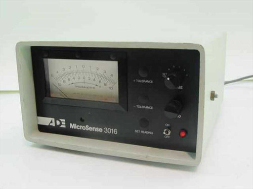 ADE MicroSense Tolerance Measurement Unit 3016 A