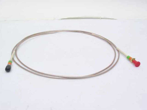 "Times Coaxial cable w/SMA-M & -F connectors (~8 ft) long 1/8"" Diameter"