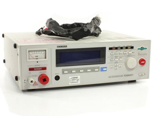 Kikusui TOS9201 AC/DC Withstanding Voltage Insulation Resistance HIPOT Tester