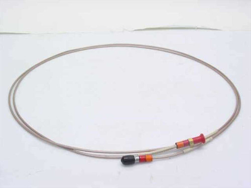 "Times Coaxial Cable with SMA/M-F (~7 ft) long 1/8"" Diameter"