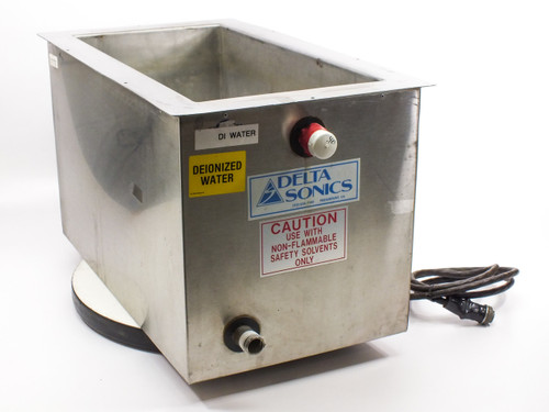 """Delta Sonics DT1021 Ultrasonic Cleaning Tank 21"""" x 10"""" x 10"""" -AS-IS"""