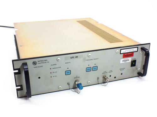 Miteq U-8153 Dual Conversion C-Band Upconverter 5.845-6.425