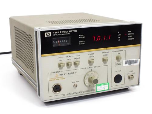 Hewlett Packard 436A 100kHz to 50 GHz Power Meter