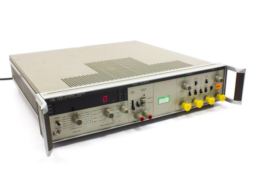 HP 5328A 2 Channel Universal Frequency Counter with Digital Voltmeter