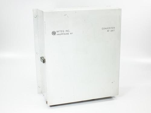 Miteq C-Band Up/Downconverter RF Unit (U/D-9502-61289)