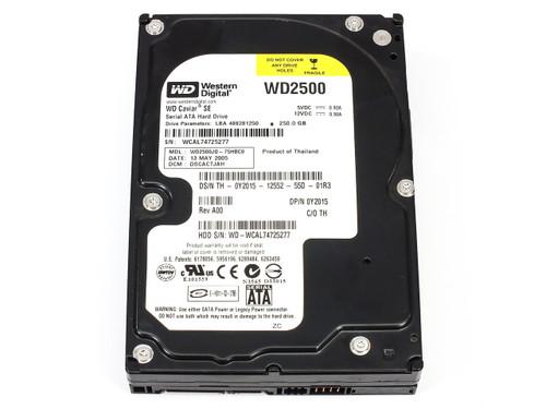 """Western Digital WD2500JD-75HBC0 250GB 3.5"""" SATA Hard Drive WD2500 Caviar SE"""