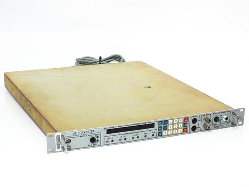 "LNR Upconverter SatCom Satallite 1U 19"" Rack -Broken PWR Switch (506010029)"