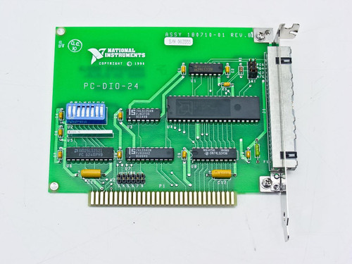National Instruments ISA Digital 24-Channel Plug-in Board (PC-DIO-24)