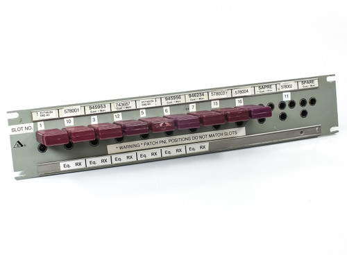 "Trompeter JSI-36 HDTV Transmission 36 Position Panel Insulated 19"" Rack 2U"