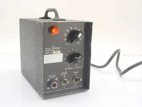 Singer Co. UHF Impulse Generator (IG-115)