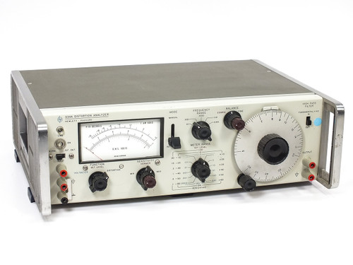 HP 334A Distortion Analyzer 5Hz to 600kHz Frequency