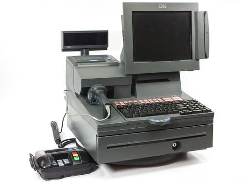 IBM 4840-544 SurePOS 544 Retail System w/ VeriFone PinPad & DataLogic Scanne