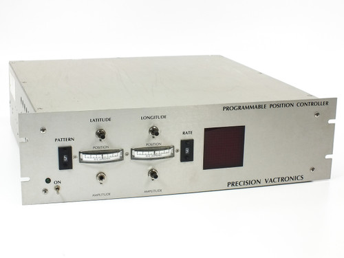 "Precision Vactronics 19"" Rack Programmable Position Controller -Broken Pot"