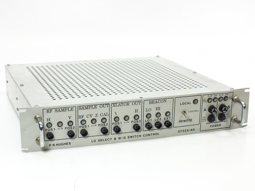P.R. Hughes LO Select & Wave Guide Switch Control - SatCom/Microwave (GT32A-6A)