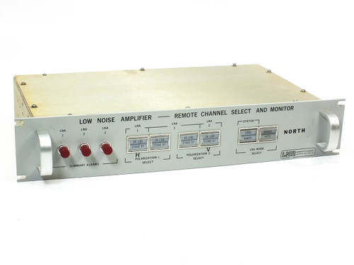 LNR Tridundant Low Noise Amplifier Remote Channel Select / Monitor (506004259)