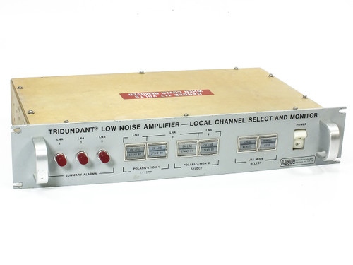 LNR Tridundant Low Noise Amplifier Local Channel Select / Monitor (506004788-1)