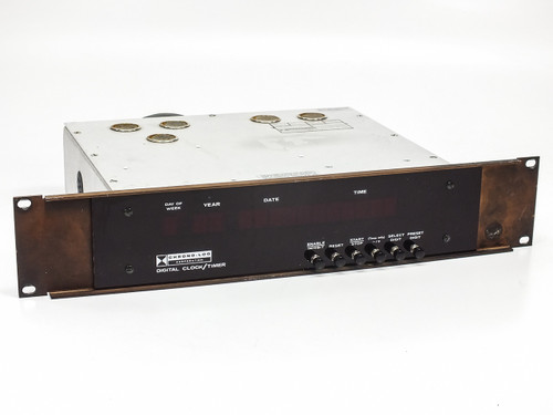 "Chrono-Log SK-32222-3632 Digital Clock / Timer - 19"" Rackmount 2U"