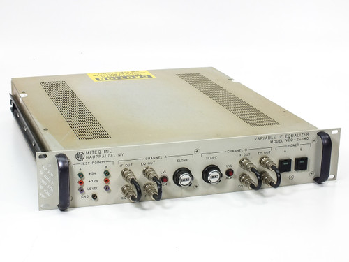 Miteq VEQ-2-140 Variable IF Equalizer - SatCom / Satellite / Microwave / RF