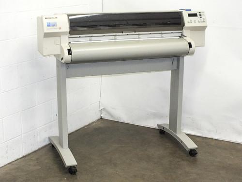 HP C3198B DesignJet C755CM E/A0 Size Large Format Inkjet Plotter Printer