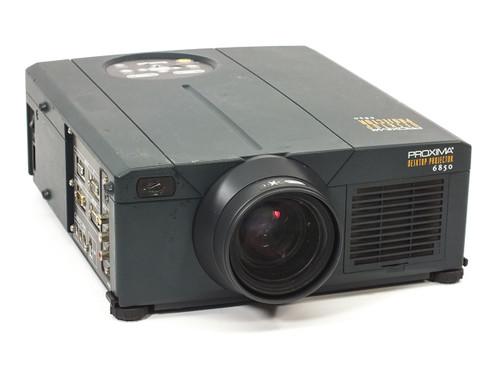 Proxima DP6850 Desktop LCD Projector 1024x768 4:3 XGA 1,500 Lumens VGA & RCA