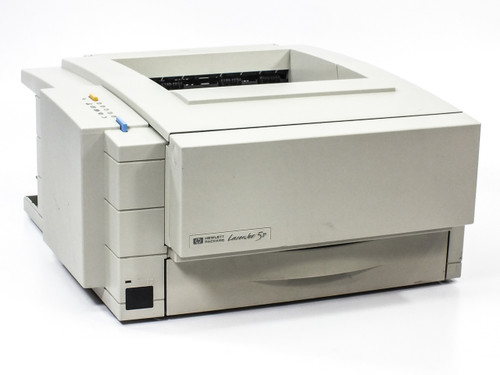 HP C3150A 5P LaserJet Printer 6PPM Monochrome Parallel - Missing Side Cover