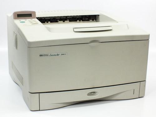 HP C4111A LaserJet 5000N Monochrome Printer 16PPM w/ 600N Ethernet Card J3111A