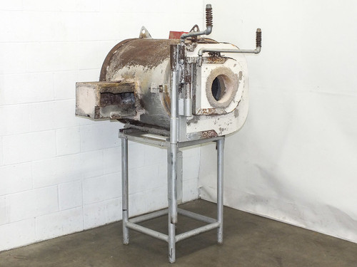 """Glory Glass Blowing Hole Gas Furnace Kiln Oven Interior: 22"""" L x 18"""" D"""