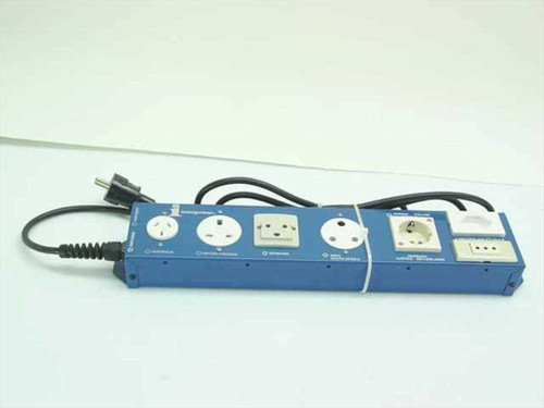 Interpower International Power Socket Strip for Test Bench