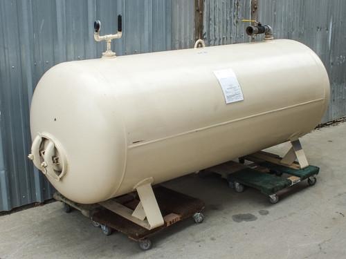 Hanson 42H0650W 650 GALLON Horizontal Compressed Air Receiver Tank - Large