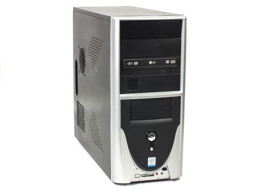 Desktop PC Computer 2.4 GHz Intel Celeron 80GB HDD 512MB RAM DVD-RW/DL Drive