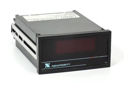 Newport Q2000BVR2 DC Ammeter Panel Meter 1/8 DIN 120-Volt AC