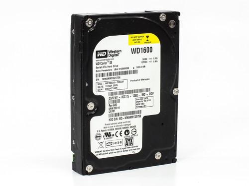 Dell 160GB SATA Hard Drive 7200RPM 3GB/s Western Digital WD1600JS-75NCB1 (DC115)