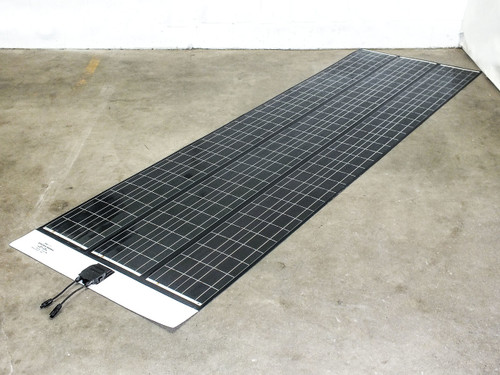 SoloPower SFX3 10 Foot 3-Bank Flexible Thin CIGS Solar Panel BIPV Solarlok