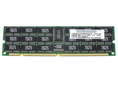 IBM 64MB 8M x 72 E 70NS 5.0V ECC DIMM Memory (35H8751)