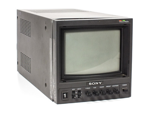 "Sony PVM-8200T 9"" Trinitron Color Video Monitor AS-IS- Sensitive CTRL Knobs"