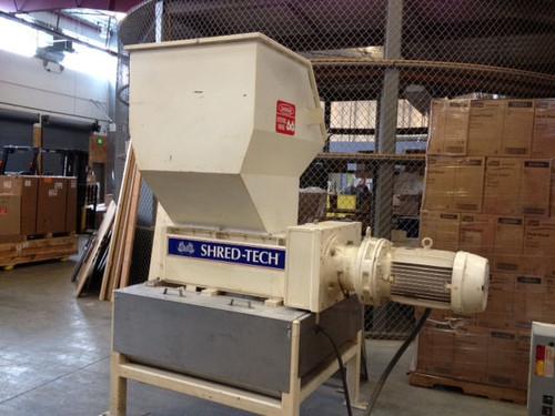 Shred-Tech ST25E 20 HP Paper Aluminum Ewaste Shear Shredder