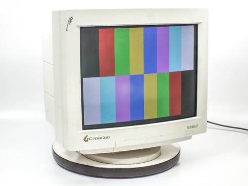 "Gateway VIVITRON21 21"" CRT Monitor with VGA and BNC Input - Gateway2000"