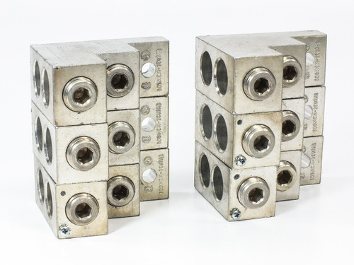 Brumall 600T-2 Aluminum Panelboard Lugs 600 MCM-2 CU7AL - LOT OF 6