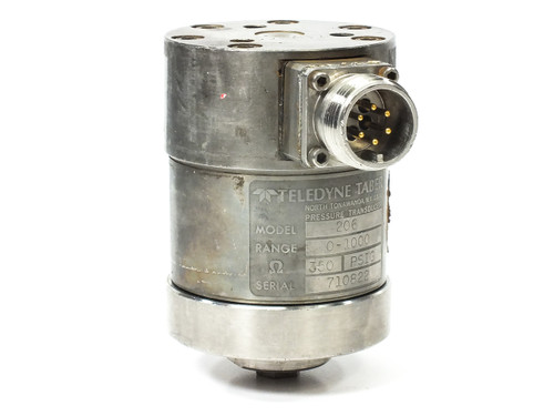 Teledyne Taber 206 Pressure Transducer 0-1000 PSI 350 OHM