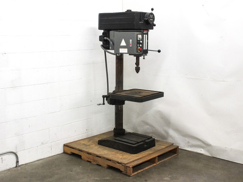 Jet JDP-20VS-3 Variable Speed Floor Drill Press 230VAC 3-Phase 2HP